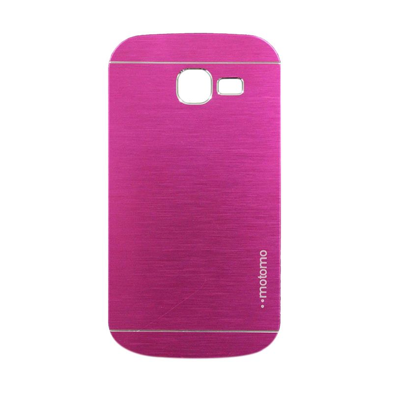 Motomo Metal Hot Pink Casing for Samsung Galaxy Trend