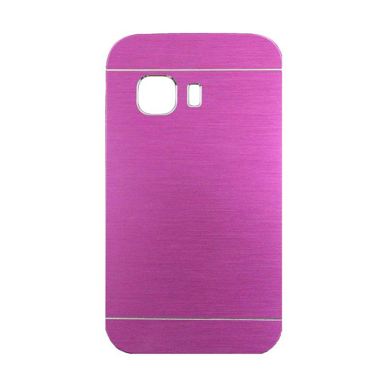 Motomo Metal Hot Pink Casing for Samsung Galaxy Young 2