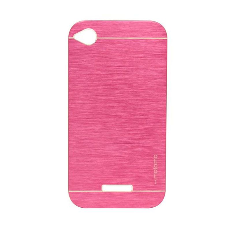 Motomo Metal Hot Pink Casing for HTC Desire 320