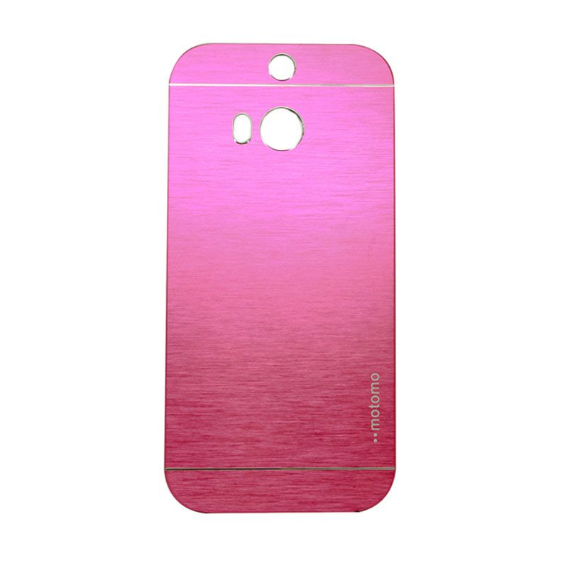 Motomo Metal Hot Pink Casing for HTC One E8