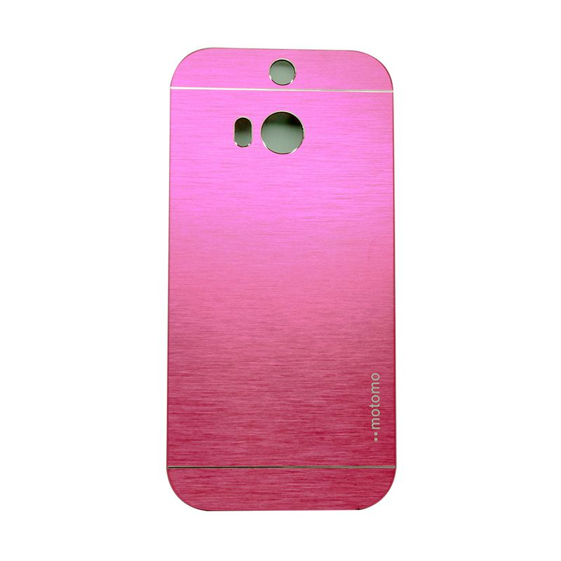 Motomo Metal Hot Pink Casing for HTC One M8