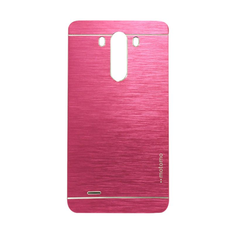 Motomo Metal Hot Pink Casing for LG G3