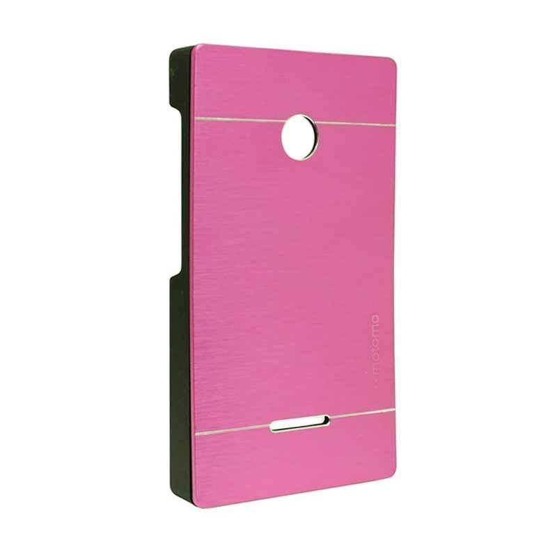 Motomo Metal Hot Pink Casing for Lumia 532