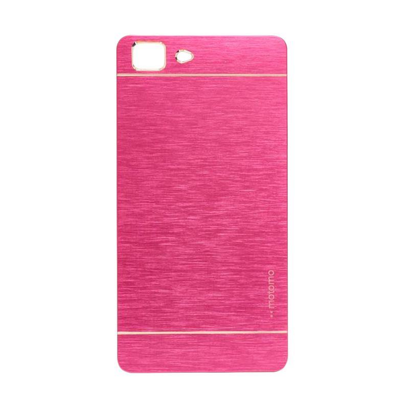 Motomo Metal Hot Pink Casing for Oppo R5