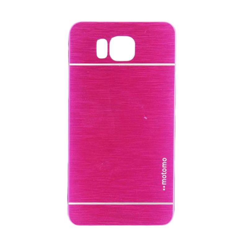Motomo Metal Hot Pink Casing for Samsung Galaxy Alpha G850