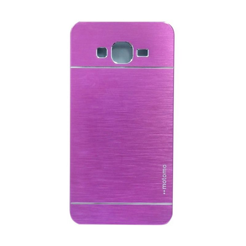 Motomo Metal Hot Pink Casing for Samsung Galaxy Core Plus