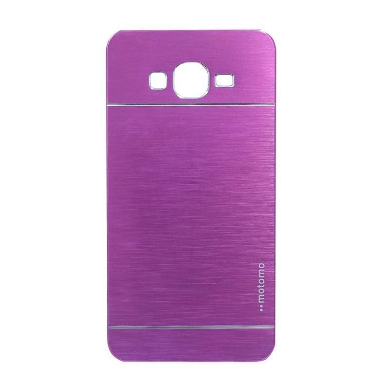 Motomo Metal Hot Pink Casing for Samsung Galaxy Grand 2 (G7106)