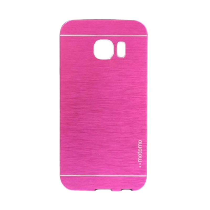 Motomo Metal Hot Pink Casing for Samsung Galaxy S6 Edge
