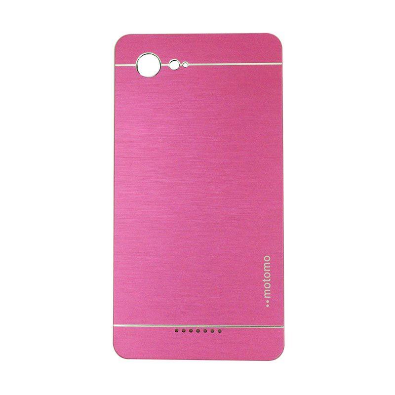 Motomo Metal Hot Pink Casing for Sony Xperia E3