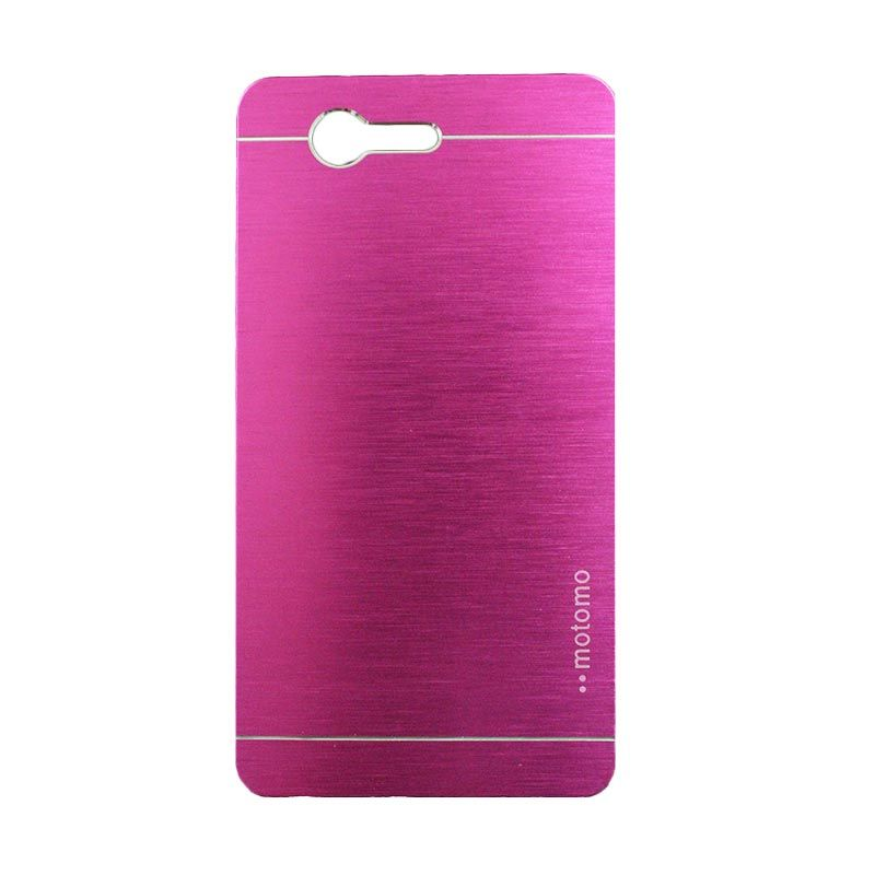 Motomo Metal Hot Pink Casing for Sony Xperia Z3 Mini