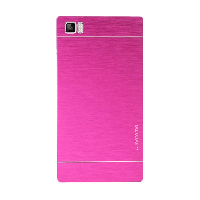 Motomo Metal Hot Pink Casing for Xiaomi Mi3