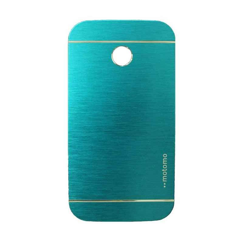 Motomo Metal Light Blue Casing for Motorola Moto E
