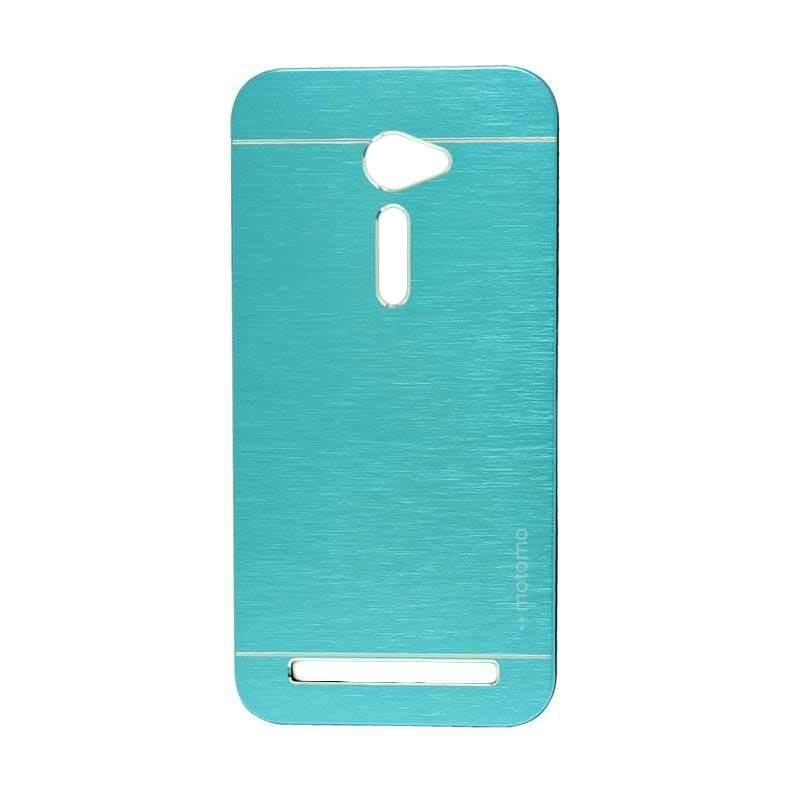 Motomo Metal Light Blue Casing for Asus Zenfone 2 ZE500CL [5 Inch]