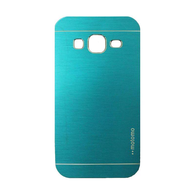 Motomo Metal Light Blue Casing for Samsung Galaxy Core Prime