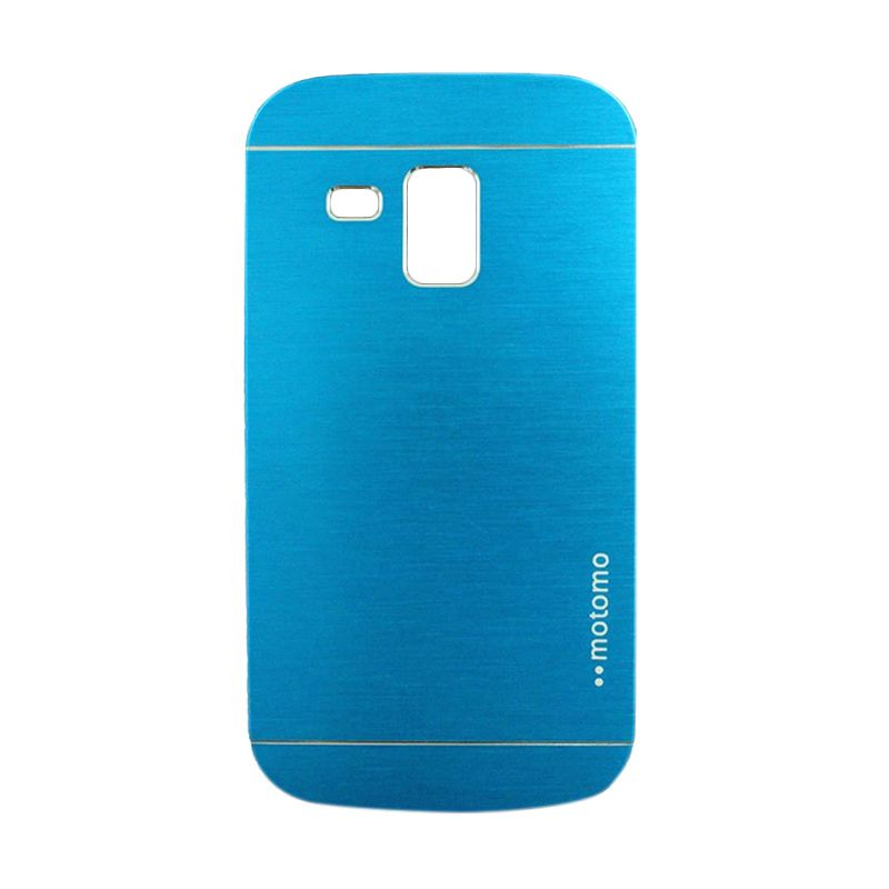 Motomo Metal Light Blue Casing for Samsung Galaxy S Duos