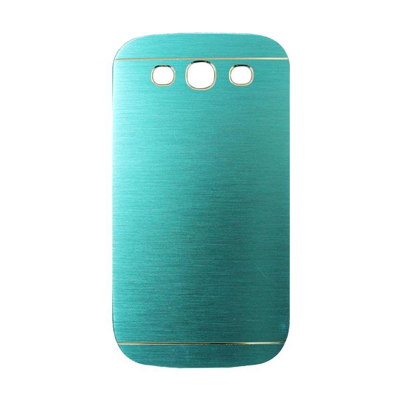 Motomo Metal Light Blue Casing for Samsung Galaxy S3
