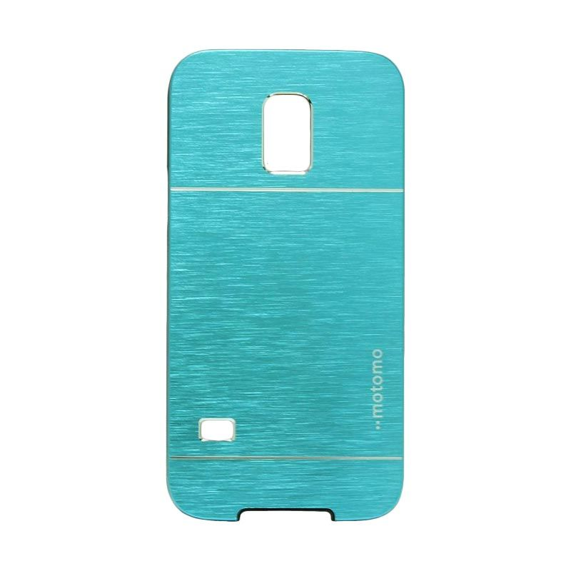 Motomo Metal Light Blue Casing for Samsung Galaxy S5 Mini