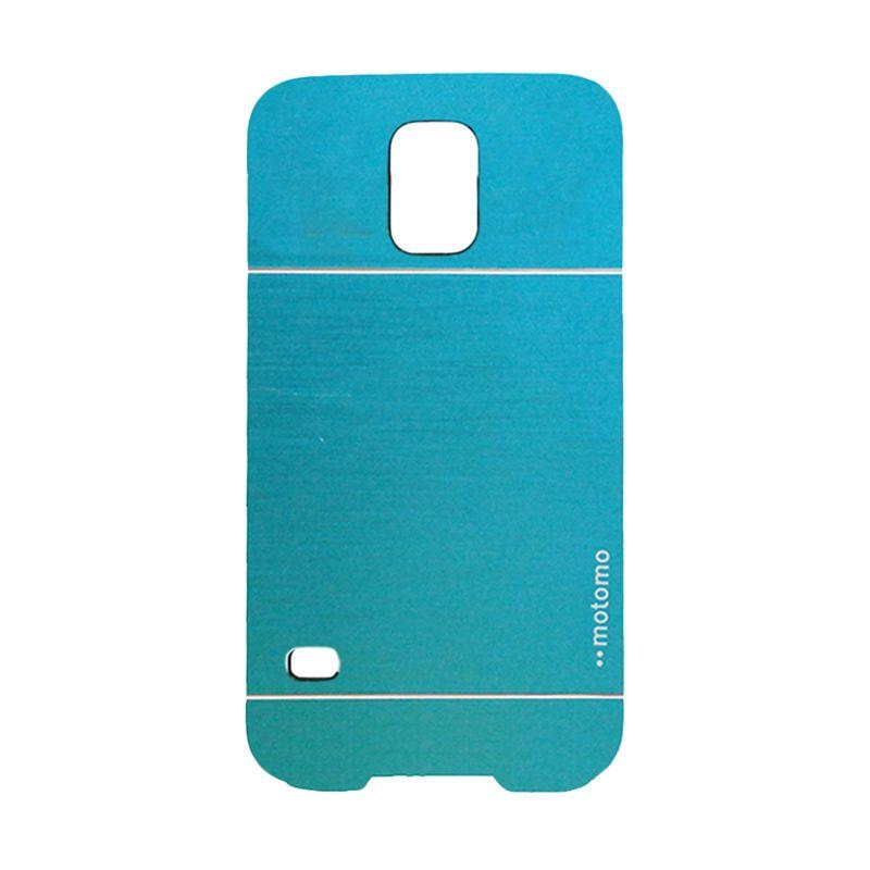 Motomo Metal Light Blue Casing for Samsung Galaxy S5