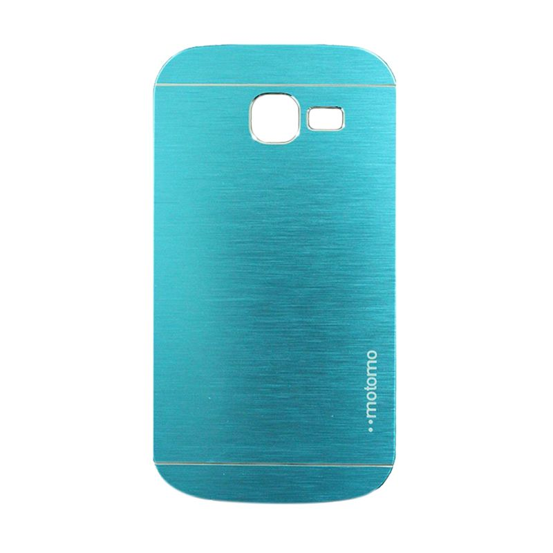Motomo Metal Light Blue Casing for Samsung Galaxy Trend