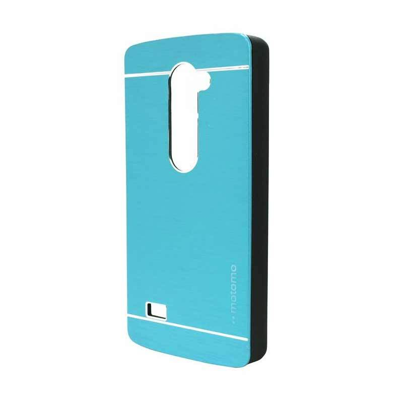 Motomo Metal Light Blue Casing for LG Leon H324
