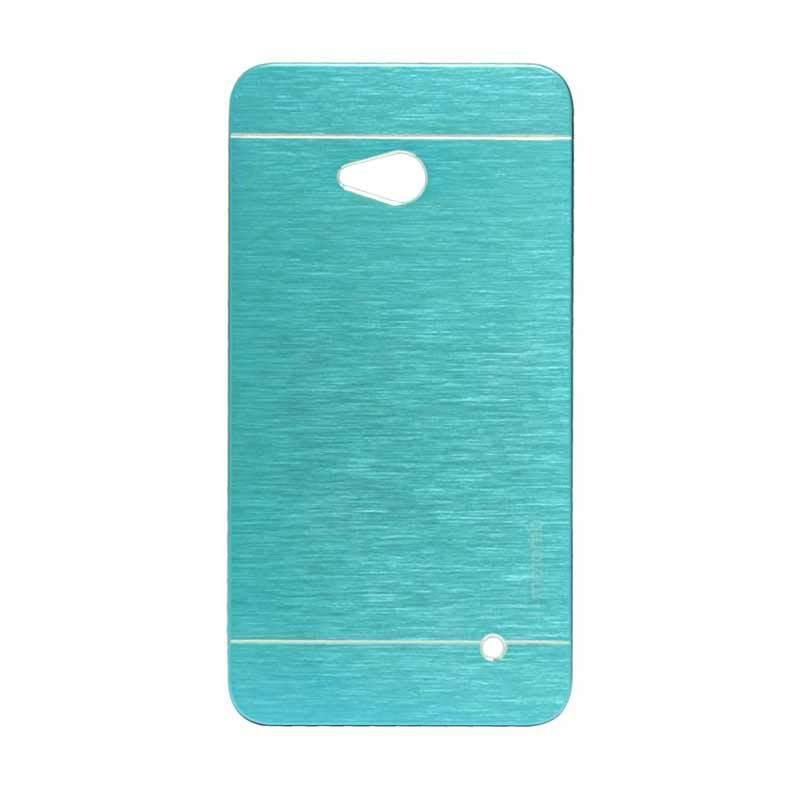 Motomo Metal Light Blue Casing for Lumia 640