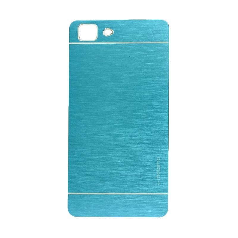 Motomo Metal Light Blue Casing for Oppo R5