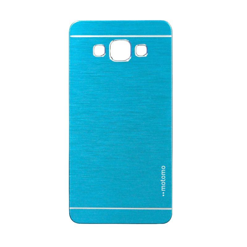Motomo Metal Light Blue Casing for Samsung Galaxy A3