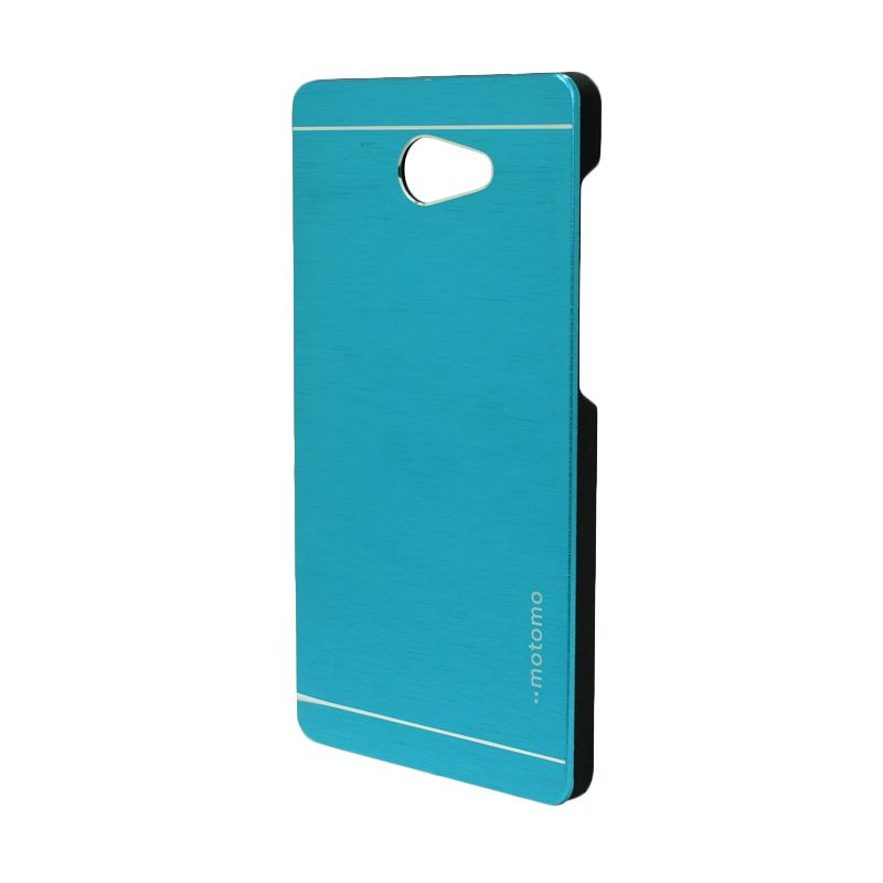 Motomo Metal Light Blue Casing for Sony Xperia M2
