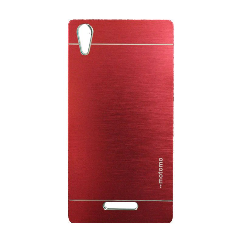 Motomo Metal Red Casing for Sony Xperia T3