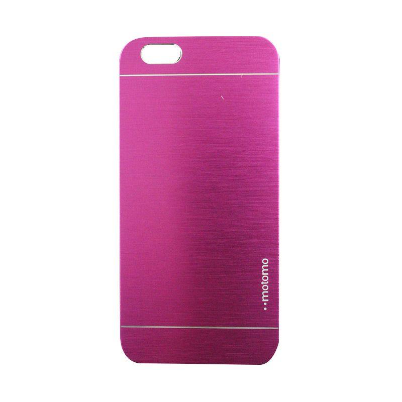 Motomo Metal Hot Pink Casing for iPhone 6