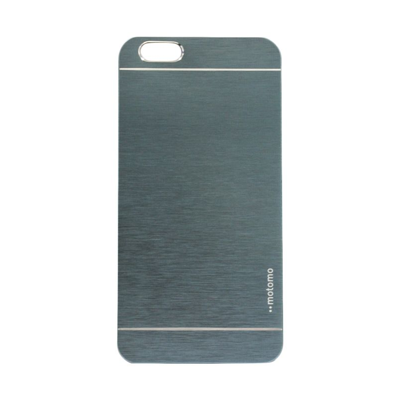 Motomo Metal Biru Tua Casing for iPhone 6 Plus