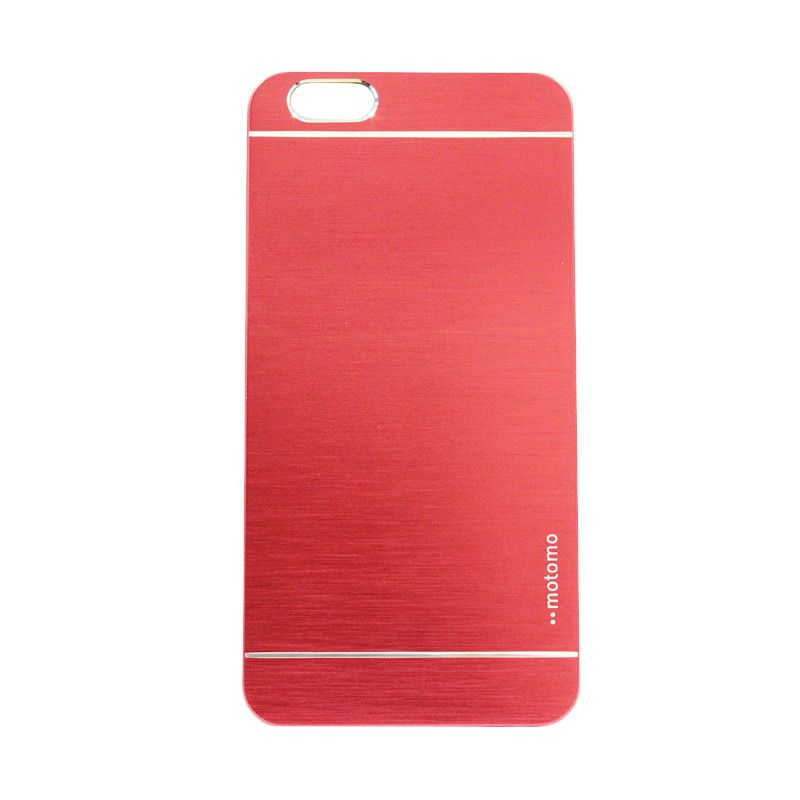 Motomo Metal Merah Casing for iPhone 6 Plus