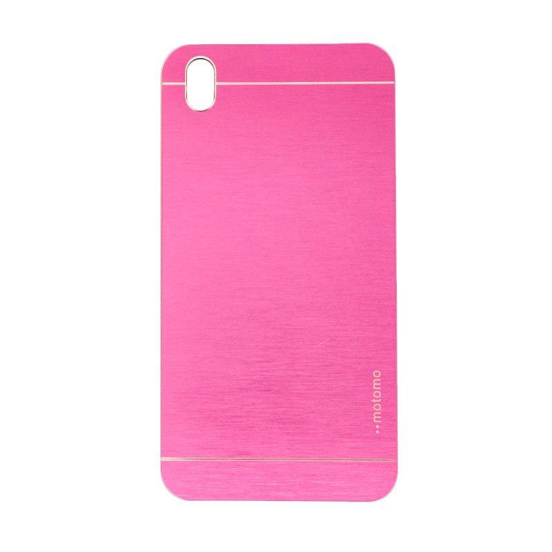 Motomo Metal Hot Pink Casing for HTC 816 Desire