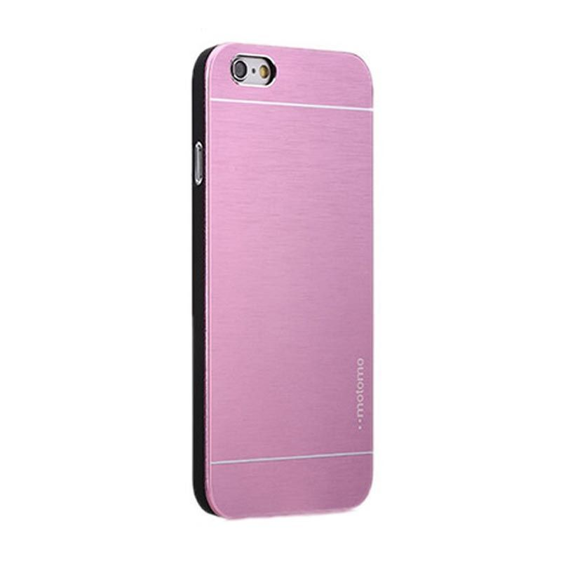 Motomo Metal Casing Pink for iPhone 5 or 5S