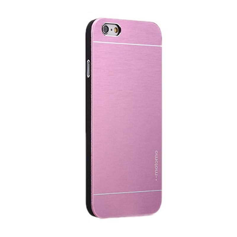 Motomo Metal Pink Casing for iPhone 6