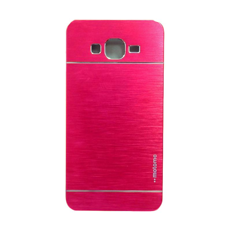 Motomo Metal Pink Casing for Samsung Galaxy Grand Prime G530