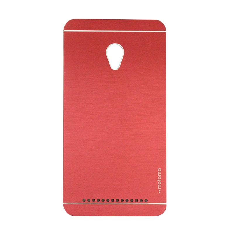 Motomo Metal Red Casing for Asus Zenfone 6