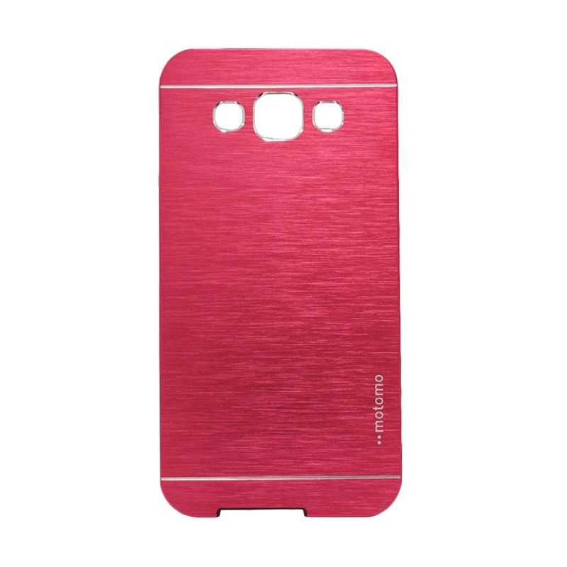Motomo Metal Red Casing for Samsung Galaxy E5