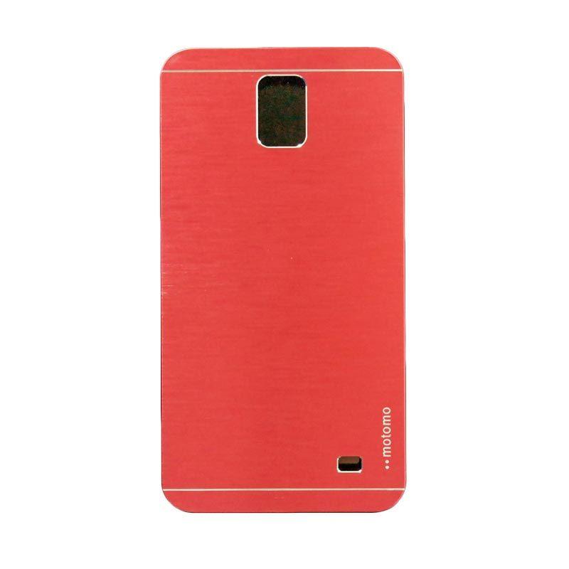 Motomo Metal Red Casing for Samsung Galaxy Mega 2