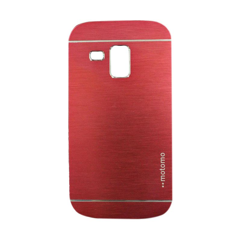 Motomo Metal Red Casing for Samsung Galaxy S Duos