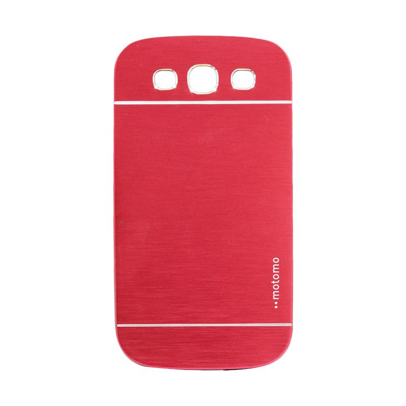 Motomo Metal Red Casing for Samsung Galaxy S3