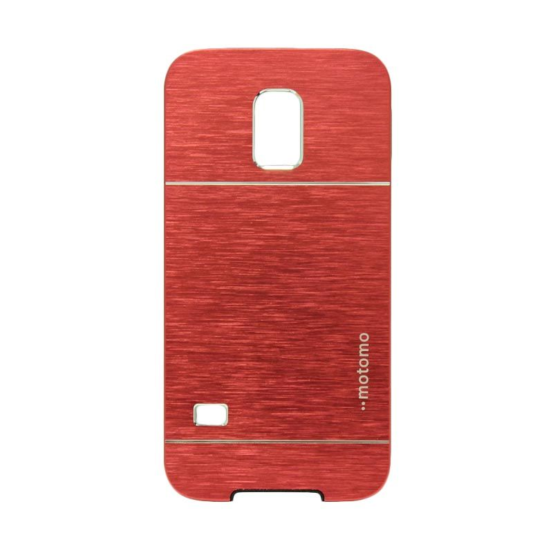 Motomo Metal Red Casing for Samsung Galaxy S5 Mini