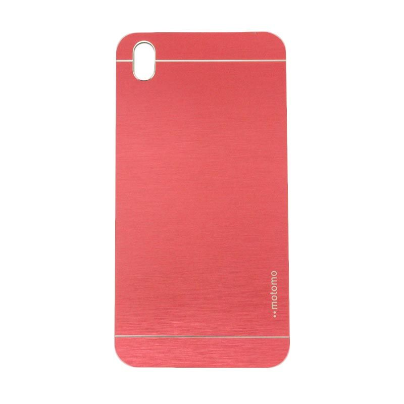Motomo Metal Red Casing for HTC 816 Desire