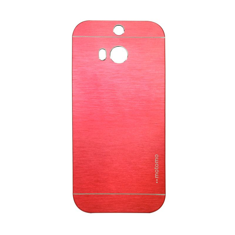 Motomo Metal Red Casing for HTC One M8