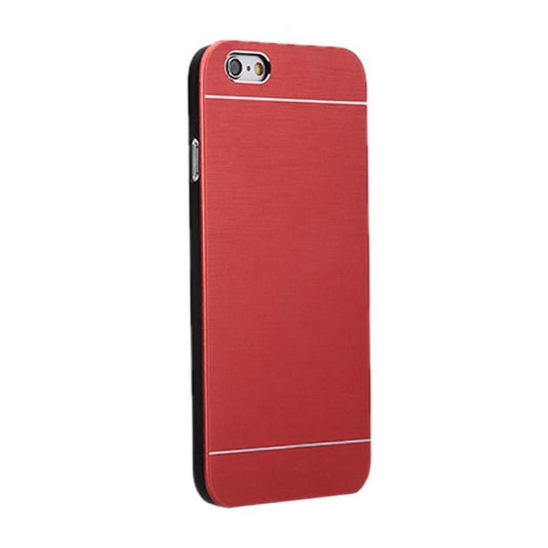 Motomo Metal Red Casing for iPhone 6