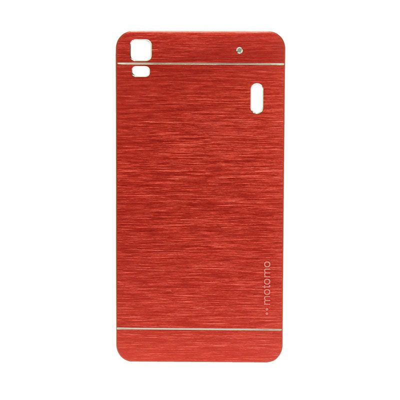 Motomo Metal Red Casing for Lenovo A7000
