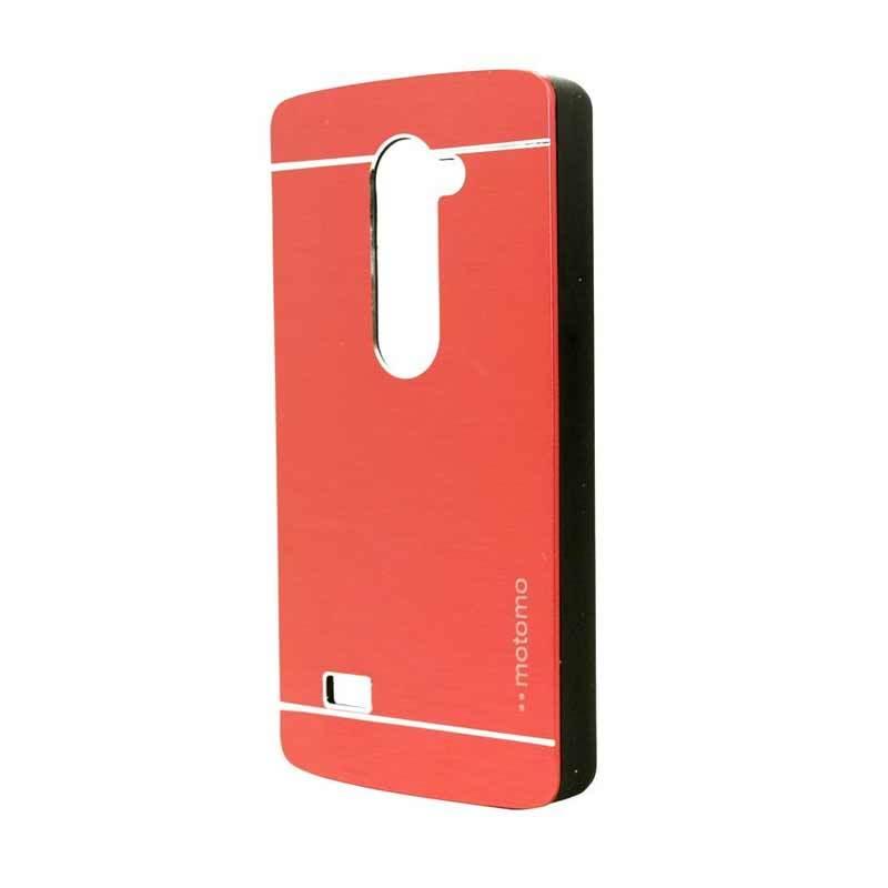 Motomo Metal Red Casing for LG Leon H324
