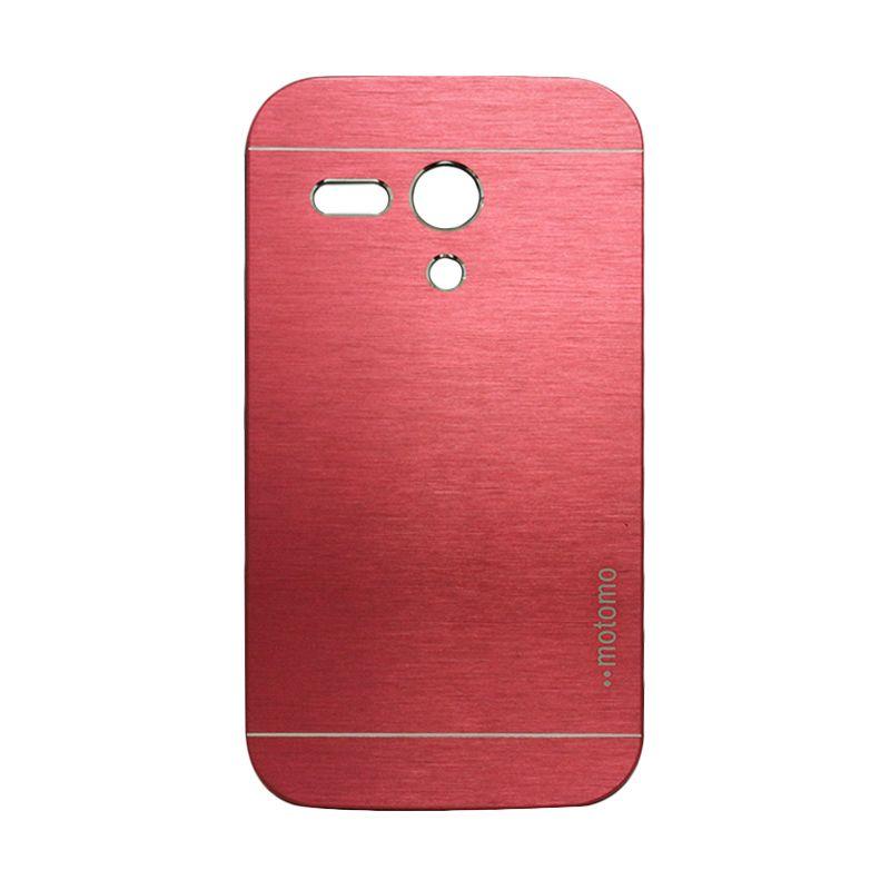 Motomo Metal Red Casing for Motorola Moto G