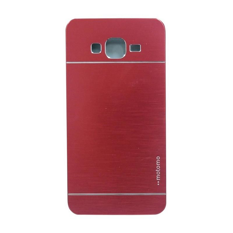 Motomo Metal Red Casing for Samsung Galaxy A3