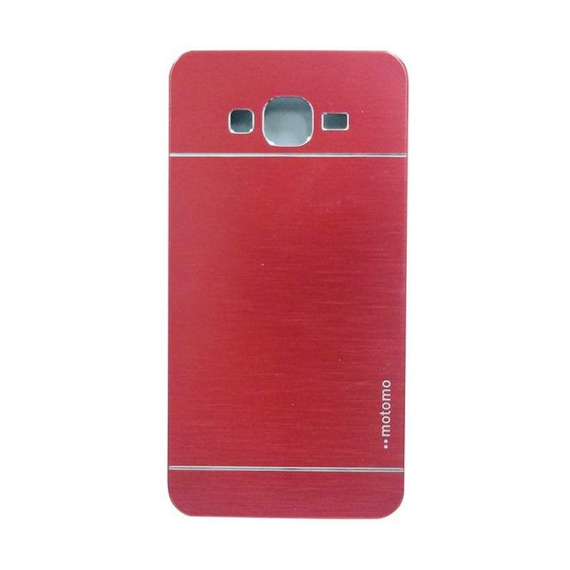 Motomo Metal Red Casing for Samsung Galaxy Core Plus